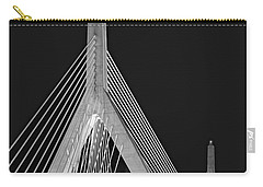 Leonard P. Zakim Bunker Hill Memorial Bridge Bw II Carry-all Pouch