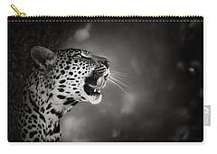 Leopard Portrait Carry-all Pouch