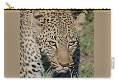 Leopard Stalking Carry-all Pouch