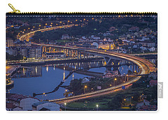Carry-all Pouch featuring the photograph Lerez River Pontevedra Galicia Spain by Pablo Avanzini