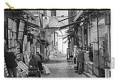 Carry-all Pouch featuring the photograph Les Artistes by Eunice Gibb