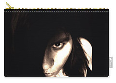 Carry-all Pouch featuring the photograph Let The Darkness Take Me by Vicki Spindler