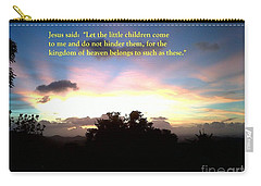 Let The Little Children Come To Me Carry-all Pouch