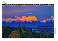 Carry-all Pouch featuring the photograph Let There Be Light by Greg Norrell