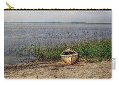 Carry-all Pouch featuring the photograph L'etang by Hanny Heim