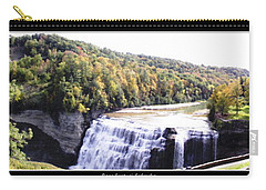 Letchworth State Park Middle Falls Panorama Carry-all Pouch