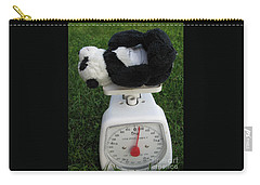 Carry-all Pouch featuring the photograph Let's Check My Weight Now by Ausra Huntington nee Paulauskaite