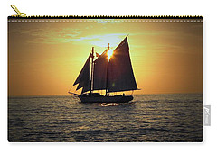A Key West Sail At Sunset Carry-all Pouch
