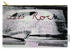 Carry-all Pouch featuring the painting Lets Rock by Luis Ludzska