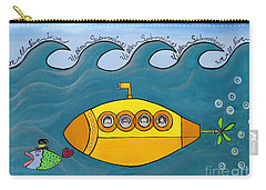 Lets Sing The Chorus Now - The Beatles Yellow Submarine Carry-all Pouch