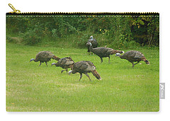 Let's Turkey Around Carry-all Pouch
