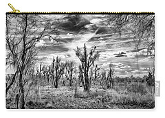 Carry-all Pouch featuring the photograph Levy Lake by Howard Salmon