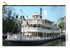 Carry-all Pouch featuring the photograph Liberty Riverboat by David Nicholls