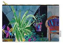 Library Courtyard-rhodes Old Town Carry-all Pouch