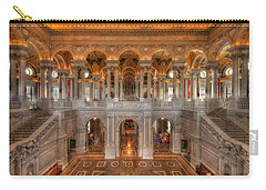 Library Of Congress Carry-all Pouch by Steve Gadomski
