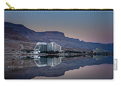 Life At The Dead Sea Carry-all Pouch
