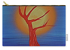 Carry-all Pouch featuring the painting Life Blood By Jrr by First Star Art