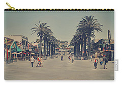 Life In A Beach Town Carry-all Pouch by Laurie Search