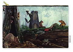 Life In A Dead Tree Carry-all Pouch