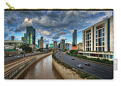 Carry-all Pouch featuring the photograph Life In The Fast Lane by Ronsho
