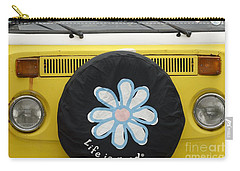 Life Is Good With Vw Carry-all Pouch by Wendy Wilton