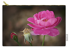 Carry-all Pouch featuring the photograph Life by Lucinda Walter