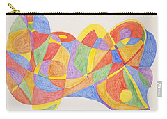 Carry-all Pouch featuring the painting Graffiti Life  by Stormm Bradshaw