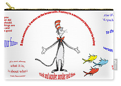 Life Words - Dr Seuss Carry-all Pouch