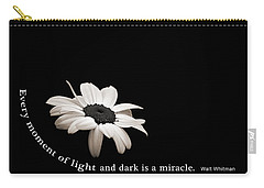 Light And Dark Inspirational Carry-all Pouch by Bill Pevlor