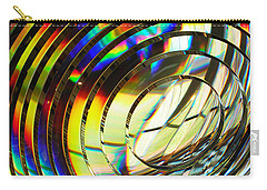 Light Color 1 Prism Rainbow Glass Abstract By Jan Marvin Studios Carry-all Pouch