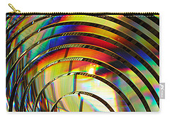 Light Color 2 Prism Rainbow Glass Abstract By Jan Marvin Studios Carry-all Pouch