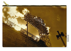 Light  Fenway Park Carry-all Pouch by Iconic Images Art Gallery David Pucciarelli