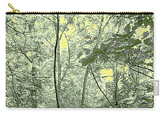 Light Forest Scene Carry-all Pouch