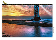 Light House Sunset Carry-all Pouch