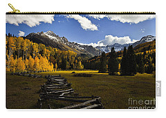 Light In The Valley Carry-all Pouch by Steven Reed