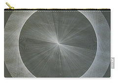 Light Is Pi  The Shape Of Pi Carry-all Pouch by Jason Padgett