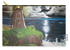 Carry-all Pouch featuring the painting Light Of The Moon by Sharon Duguay