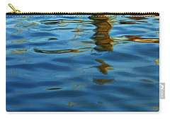 Light Reflections On The Water By A Dock At Aransas Pass Carry-all Pouch