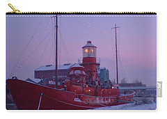 Carry-all Pouch featuring the photograph Light Ship by John Williams