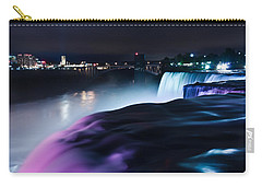 Carry-all Pouch featuring the photograph Light Show by Mihai Andritoiu