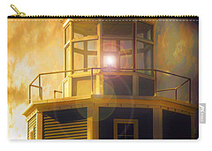 Carry-all Pouch featuring the photograph Lighthouse  by Aaron Berg
