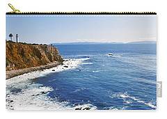 Lighthouse At A Coast, Point Vicente Carry-all Pouch
