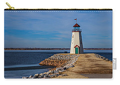 Lighthouse At East Wharf Carry-all Pouch