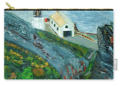 Lighthouse At Point Reyes California Carry-all Pouch