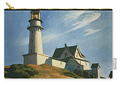 Lighthouse At Two Lights Carry-all Pouch