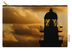 lighthouse dawn in the north coast of Menorca Carry-all Pouch by Pedro Cardona