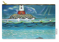 Lighthouse Fish 030414 Carry-all Pouch