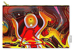 Lighthouse In Abstract Carry-all Pouch