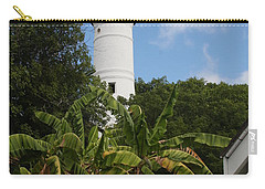 Carry-all Pouch featuring the photograph A Sailoirs Guide On The Florida Keys by Christiane Schulze Art And Photography