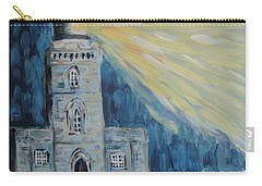 Carry-all Pouch featuring the painting Lighthouse by Maria Langgle